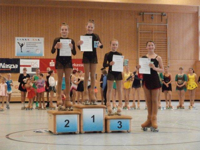 """Siegerehrung """"Schüler B Mädchen - Gesamtwertung"""""""