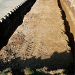 Die Fundamente sind ausgehoben (24.09.13)